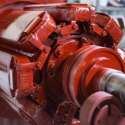 ротор генератора самосвала